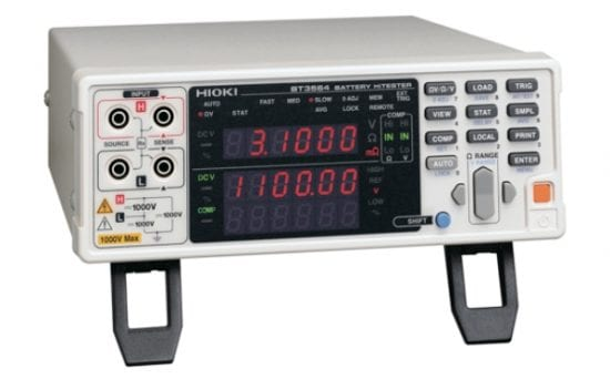Hioki Launches High Voltage Battery Tester For Electric Vehicles, Plug-In Hybrid Electric Vehicles